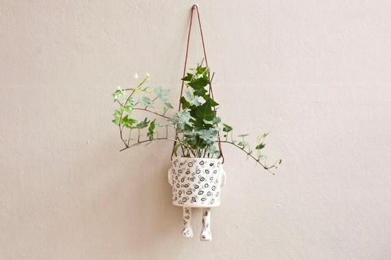 Ceramic pot – Ey! Hanging – Size M