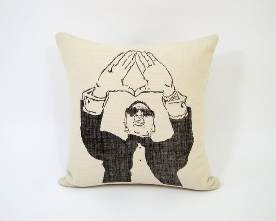 Jay Z  Accent Pillow, Pillow Throw Decor, Pillow Cushion, Cushion Cover, Decorative Throw Pillow Throw