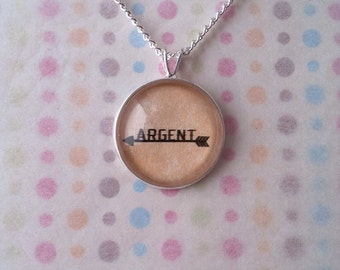 Teen Wolf Argent Arrow Necklace