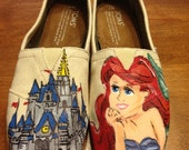 Little Mermaid & Cinderella Castle TOMS