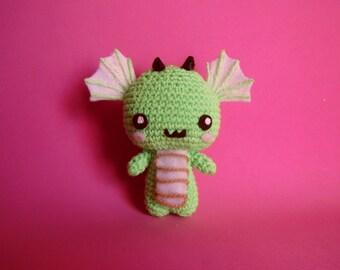 Amigurumi dragon - crochet
