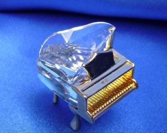 "Swarovski Crystal Memories Mini Grand Piano ""Classics"" Series"