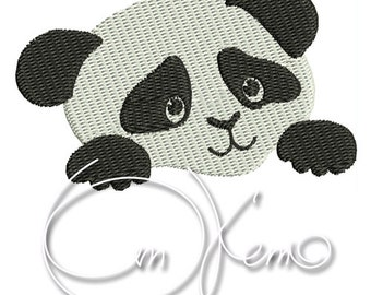 MACHINE EMBROIDERY FILE - Panda