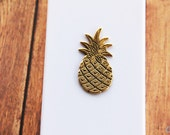 Pineapple iPhone Case, iPhone 5s Fruit Gifts for Girls Girly Galaxy S4, S3 Case Girly, Gold and White, Samsung Galaxy Pineapple, Accessories - CaseCavern
