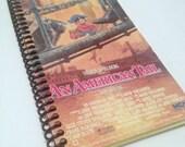 """VHS Journal - """"An American Tail"""" Handmade Blank Spiral Bound Journal"""