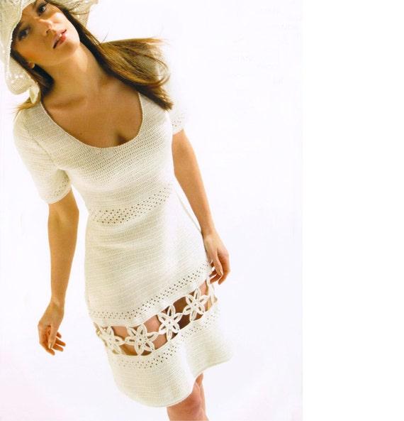 Crochet Dress PATTERN Written Tutorial In ENGLISH Wedding
