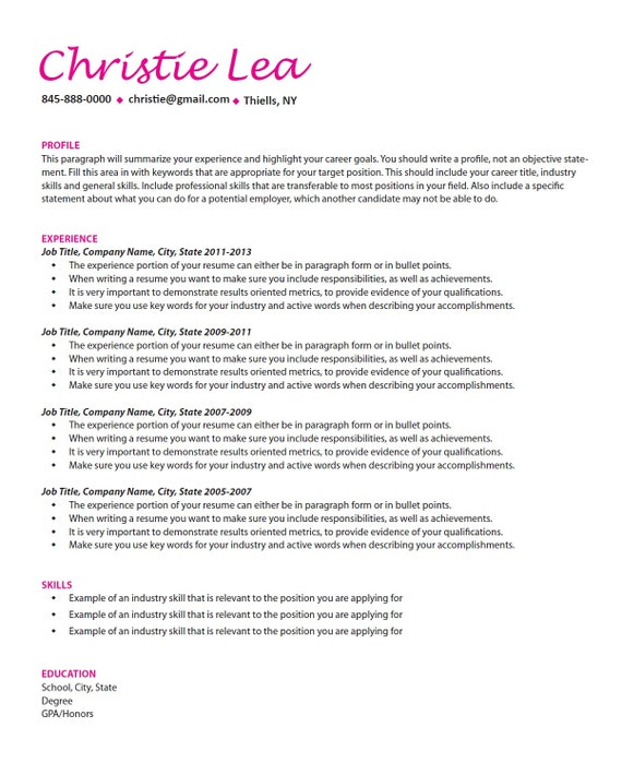Custom resume writing the objective
