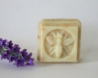 Lavender  Guest Size Honey Soap, organic ingredients