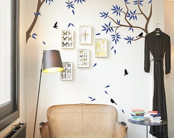 Large Tree Branches Wall Decals, Tree mural, Vinyl Wall Decal -  MM016