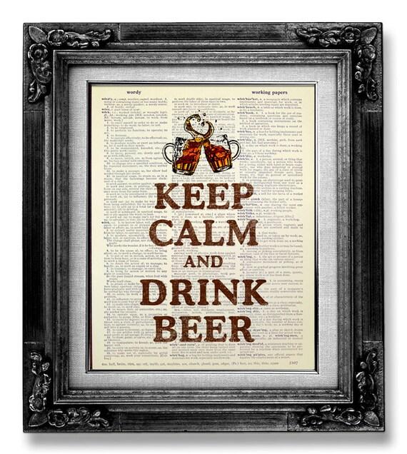 Man Cave Gag Gifts : Man cave decor bar art british gag gift beer