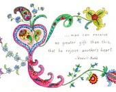 Bahai Card -- Gift