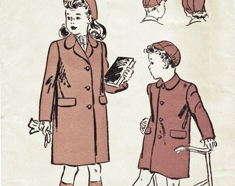 1940S WINTER FASHION PATTERNS - FREE PATTERNS