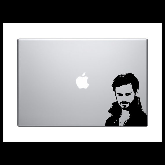 "captain hook- once upon a time- 6"" decal- once upon a time sticker- once upon a time decal- captain hook decal- captain hook sticker-"