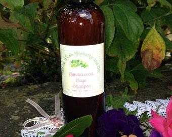 Organic Shampoo Sandalwood Sage White Witch Alchemy