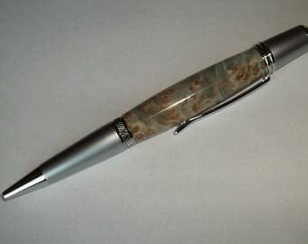 Dyed Maple Burl Pen