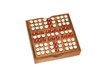 Sudoku, Sodoku Wooden Game, Woodworking, 100% Handmade