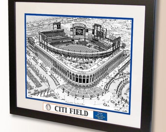 Citi Field Art, home of the New York Mets