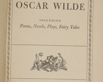 The Best Known Works of Oscar Wilde - Antique Book
