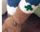 Shamrock Boot Cuffs