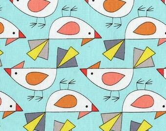 Tweet, Birds of a Feather by Mark Hordyszynski for Michael Miller Fabrics