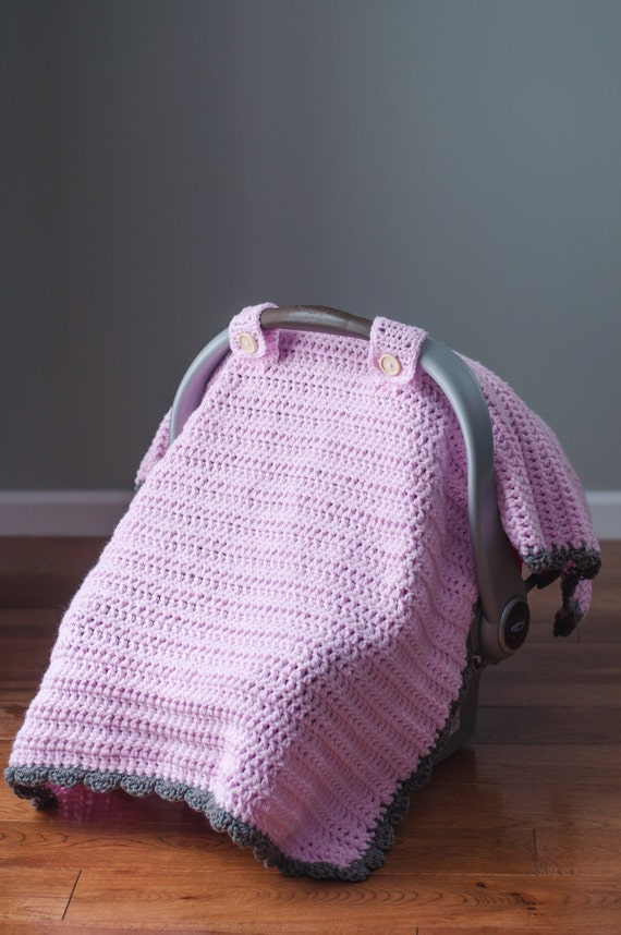 The Thick And Quick Crochet Car Seat Canopy Tent
