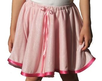 PDF Girls Skirt Pattern, Circle skirt Pattern, Layers Skirt Pattern, Girls Summer Skirt Pattern