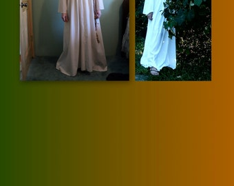 Custom Cotton Renaissance faire fantasy fairy medieval tunic underdress/ Chemise/ grecian costume--MADE TO ORDER