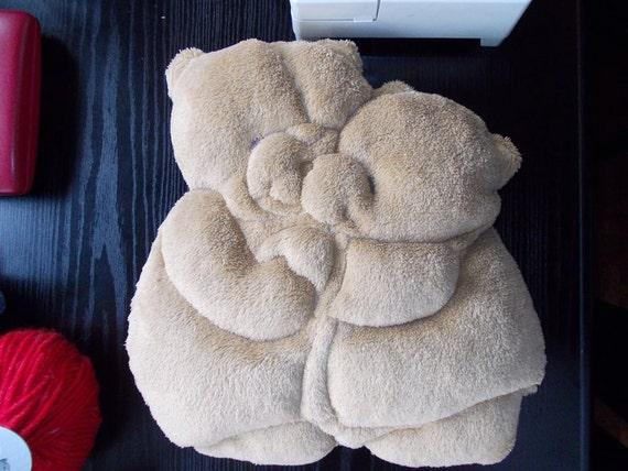 Animal Pillow Patterns To Sew : PDF sewing pattern for baby pillow bear stuffed animal DIY