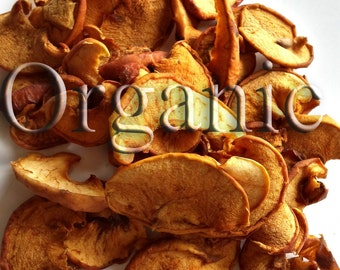 Dried apples. Organic. Handcrafted. 100g