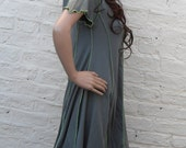 Faery Woodland Pixie Hood Dress ~ Elven ~ Fantasy ~ Druid ~ Plus Size ~ Sizes 6 to 30 ~ Last Chance to Buy