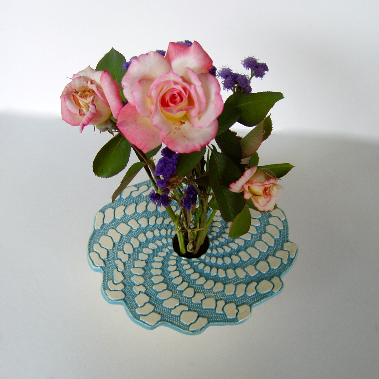 Spiral Vase Handmade Ceramic Flower Vase