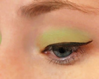 Wicked Lime Eyeshadow & Eyeliner - All-Natural Gentle Vegan Mineral Makeup Green
