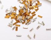 Swarovski VINTAGE Crystal RHINESTONES Machine-Cut  BAGUETTES 5x2mm Clear 4501 Point Back Jewelry Stones Austria 1st Quality