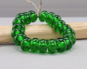 25 % off- 20 Spacer - Handmade Lampwork Beads - S 14