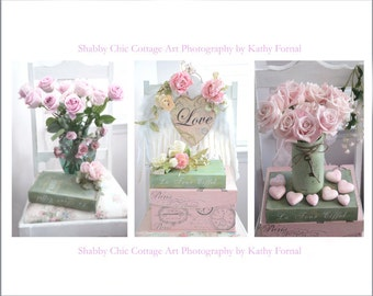 Shabby Chic Flower Photography, Pink Flower Pictures, Dreamy Pink Paris Roses, Pink Flower Photos, Shabby Chic Decor, Pink Flower Notecards