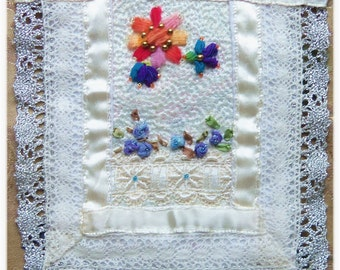 Handmade Quilt for 1/12th Scale Dollhouse