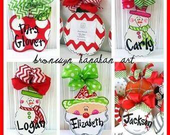 Buy 6 Christmas Ornaments and Receive FREE Shipping - Bronwyn Hanahan Art