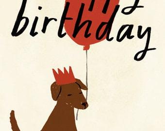SALE: Birthday Dog card