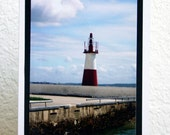 CYBER MONDAY SALE Lighthouse at Todos os Santos in Bahia, Brasil Photography Greeting Card