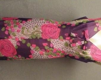 Herschelle, 1960's  Hawaiian Dress, Size Medium,  #11998
