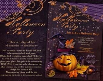 Halloween Party, Halloween Invitations