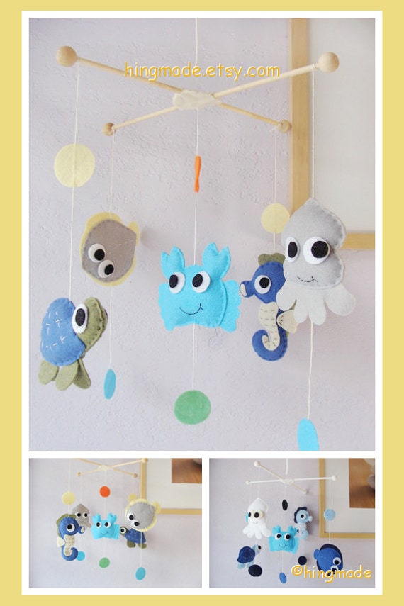 Baby Crib Mobile Nursery Mobile Ceiling Hanging Mobile By