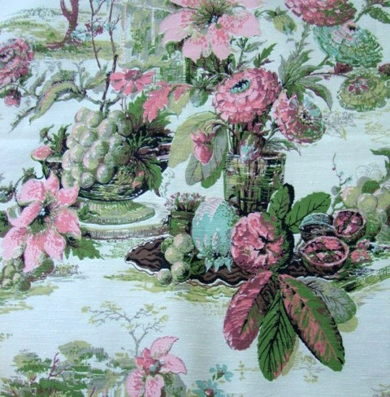 Print Drapery Fabric Home Decorator Fabric Upholstery Curtains 109