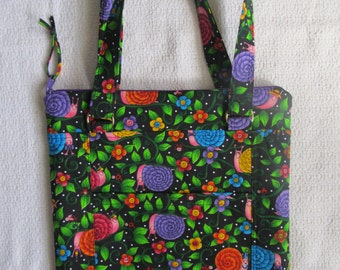 Two Strap Zippered Tote for your 'Tween