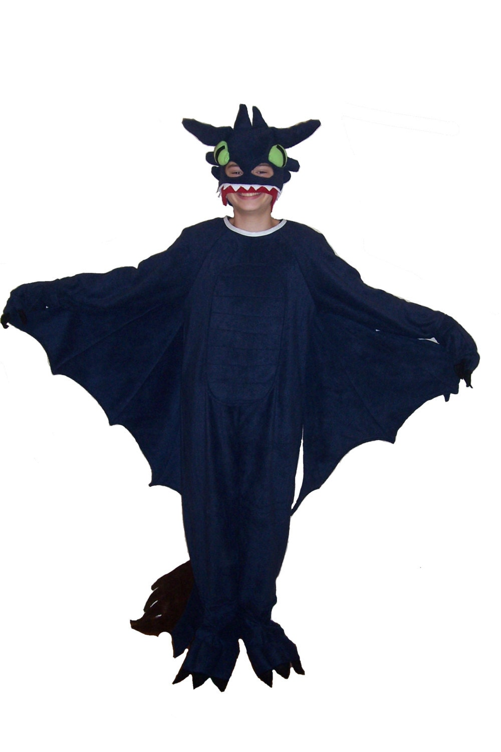 how to train your dragon night fury toothless inspired costume