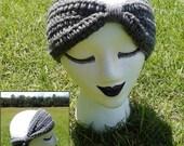 BOGO FREE SALE Handmade Crochet Winter Headband Turban Bow Ear Warmer - Made to Order