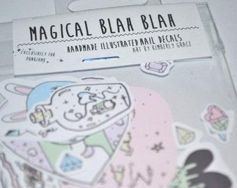 Magical Blah Blah Sticker Pack