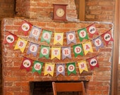 Tractor Farm BBQ Birthday Party Printable Banner