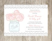 RESERVED FOR WHITNEY Baby Shower Invitation and Professional Printing