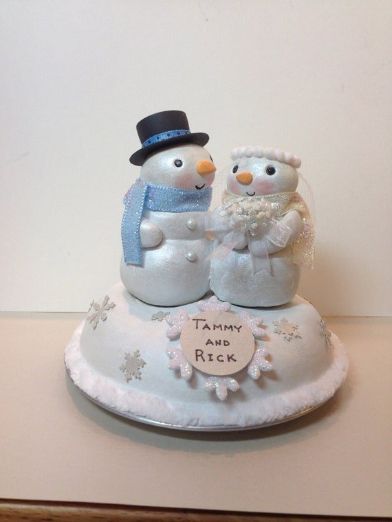 Etsy Wedding Cake Toppers Initials